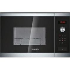 Bosch HMT84G654B Stainless Steel Built-in Microwave Oven With Grill