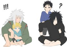 Madara, Obito, Naruto and Ero-sennin <3<3<3<3<3<3<3<3 GOD MADARA
