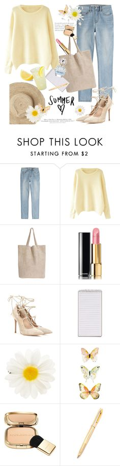 """""""Summer Love"""" by rever-de-paris ❤ liked on Polyvore featuring Marc by Marc Jacobs, Oysho, Chanel, Gianvito Rossi, Accessorize, Dolce&Gabbana, H&M, Marc Jacobs, Summer and polyvoreeditorial"""