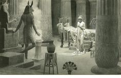 Paulina In The Temple Of Isis by Fortunino Matania