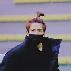 Jaehyun with apple hair