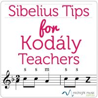 Sibelius Tips for Kodály Teachers - learn how to create stick notation, Zaa, add automatic solfa and more using Sibelius. http://www.midnightmusic.com.au/2011/08/sibelius-tips-for-kodaly-teachers/
