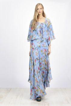 SS17-spring-summer-2017-fashion-blog-bogger-blogueuse-belge-trends-wallflower-flower-power-pinko-italian-brand-maxi-dress-blue-robe-georgette-fantasie-hibiscus-print