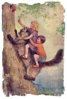 Illustration from Eila Mackenzie's 'The Cat & the Fairy' by Margaret Tarrant 1937