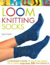 Loom Knitting socks and slippers are easy when you have a good pattern and video tutorial to follow. This loom knitting video tutorial submitted by Pam a.k.a. The Looming Idiot of the sock design b…