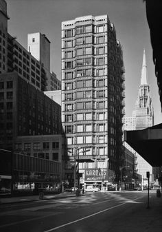 Reliance Building, the first floor and basement were designed by John Root in 1890, with the rest of the building completed by Charles B. Atwood in 1895