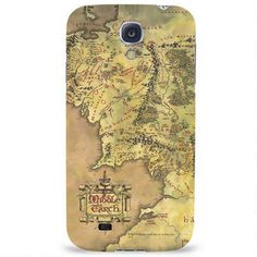 The Lord of the Rings Middle-earth Map Phone Case for iPhone and Galaxy
