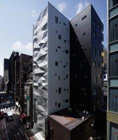 Japón: Edificio de oficinas 'Dear Ginza', Tokio -  amano design office