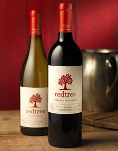 Redtree | Wine Label & Package Design by CF Napa Brand Design