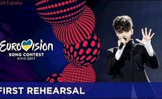 Kristian Kostov - Beautiful Mess (Bulgaria) First rehearsal in Kyiv