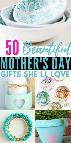 50 Easy & Gorgeous Gifts to Make for Mother