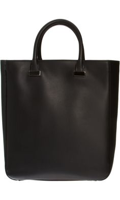 28 Best The Perfect Tall Black Leather Tote Handbag images