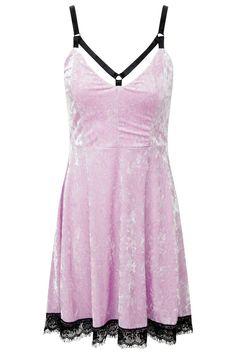 Adora Velvet Crush Dress [PINK]