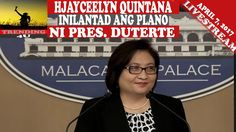 LIVE NOW: HJAYCEELYN QUINTANA, INILAHAD ANG MGA PLANO NI PRES. DUTERTE - WATCH VIDEO HERE -> http://dutertenewstoday.com/live-now-hjayceelyn-quintana-inilahad-ang-mga-plano-ni-pres-duterte/   LIVE NOW: HJAYCEELYN QUINTANA, INILAHAD ANG MGA PLANO NI PRES. DUTERTE SA PAGBISITA NIYA SA SAUDI ARABIA SUBSCRIBE, COMMENT AND SHARE!  News video credit to YouTube channel owners  Disclaimer: The views and opinions expressed in this video are those of the YouTube Channel owners and do