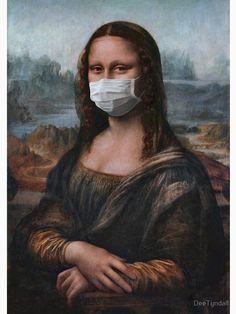 Aesthetic Drawing, Aesthetic Art, Aesthetic Pictures, Wall Art Wallpaper, Cartoon Wallpaper, Mona Lisa Drawing, Arte Van Gogh, La Madone, Mona Lisa Parody