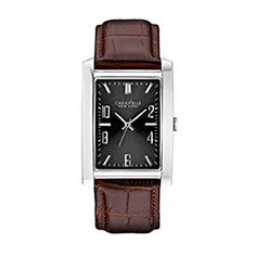 wooden watch in and models ben moss jewellers caravelle new york 43a119 men s stainless steel watch