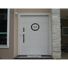 Número Residencial Casa Portão Adesivo Número Personalizado - R$ 9,99