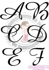 Resultado De Imagem Para Molde De Letras Cursiva Letters Abc Symbols