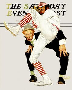 Norman Rockwell Best Paintings Ever | ... National Baseball Hall of Fame features two Norman Rockwell paintings