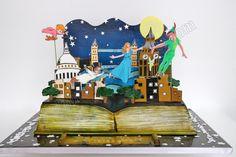Celebrate with Cake!: Peter Pan Pop Up Book Cake