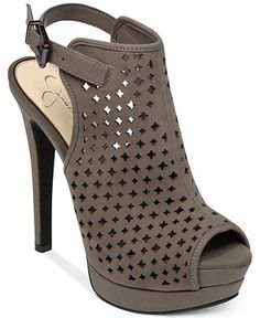 Jessica Simpson Seigfriede Perforated Platform Shooties - Jessica Simpson - Shoes - Macy's