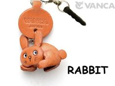 VANCA Rabbit Leather Animal Earphone Jack Accessory http://rabbithutchzone.com/vanca-rabbit-leather-animal-earphone-jack-accessory/ #leather #earphone