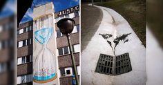 El grafiti y las paredes de la calle son una combinación perfecta para dejar un mensaje a un público más amplio como lo es el cambio climático.