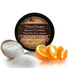 Orange Tangerine Dead Sea Salt Scrub