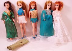 Vintage Topper Dawn Doll and Clothing