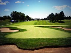 A perfect view from the RBC Canadian Open at Glen Abbey Golf Club.