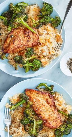 This is how you elevate comfort food! Spiced chicken and broccoli are roasted together on a sheet pan (hello, easy clean up!) while the rice bakes with tangy cream cheese. Don't forget to fold in the cheddar cheese blanket to the rice casserole for the finishing touch! Sign up for Martha & Marley Spoon meal kits to get fresh ingredients and trusted recipes delivered to your door each week.
