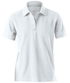 Charles River Apparel Style 2045 Women's Short Sleeve Allegiance Polo - SweatshirtStation.com #CharlesRiverApparel #poloshirt #whitepolo