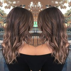 Image result for brown to light brown balayage
