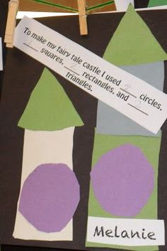 Fairy Tale Castles.  Great ideas and simple activities for students with special learning needs.  Read more at:  http://tickledpinkmandy.blogspot.com/2011/05/fairy-tale-unit.html