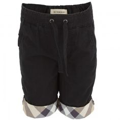 Burberry baby Black Casual shorts