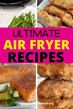 Healthy And Simple Air Fryer Recipes That Taste Amazing. The ULTIMATE LIST of the best Pinterest Air Fryer Recipes. Are you new to air fryer recipes? If you're a fan of easy meals, these weeknight dinner ideas are a great place to start. Whether you're after easy air fryer recipes for beginners or for something more specific like healthy family meals, there's something for everyone. #airfryer #airfryerrecipes #chicken #airfryerdinner #chickenrecipes #easymeals Easy Make Ahead Appetizers, Easy Dinner Recipes, Appetizer Recipes, Dinner Ideas, Easy Meals, Party Appetizers, Easy Casserole Recipes, Bean Casserole, Holiday Treats