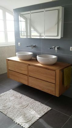 Find the most inspirational home decor ideas for your bathroom here. Bathroom Basin Taps, Wood Bathroom, Bathroom Kids, Small Bathroom, Faucets, Bathroom Design Layout, Bathroom Interior Design, Bad Inspiration, Bathroom Inspiration