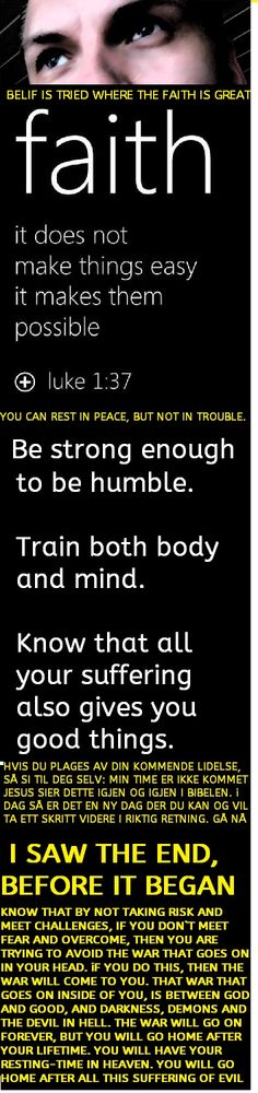BE STRONG ENOUGH TO BE HUMBLE, you should always try to reach new and higher goals in how you speak and in your behavior, try to become a more and more good person, and you will see after a while, that it works.