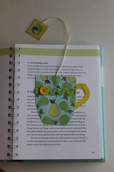 Paper Crafted Teacup Bookmark in Yellow and by TheGreenDoorCottage, $3.25