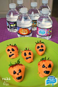 Nestlé® Pure Life® Limited Edition Share-a-Scare™ Halloween bottles are the perfect size for trick-or-treating, making it easy for kids to stay hydrated throughout the night. Click through to find them today.
