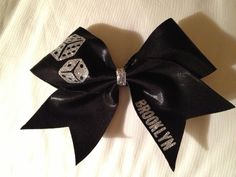 Vegas Cheer Bow  www.etsy/shop/fullbidbows.com