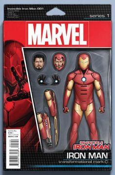 Invincible Iron Man Vol 2 #1 ACTION FIGURE VARIANT