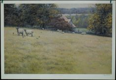 $59.99  Wildlife Sheep Autumn Graze BY Tony Bianco ART Print   eBay #art #sheep #animals