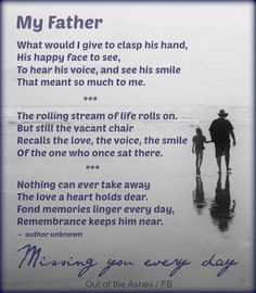 20 Best Missing Dad In Heaven Images Father Thinking About You