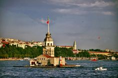 """500px / Photo """"Different Angle - Maiden's Tower """" by Sadettin Uysal"""