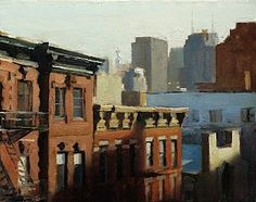 David Roth - Early Light, oil on canvas, 11 x 14 inches