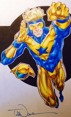 Booster Gold - Todd Nauck