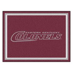Eastern Kentucky Colonels 8x10 Plush Area Rug