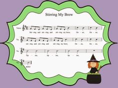 Stirring My Brew - Kindergarten Song - Loud/Soft and Long/Short