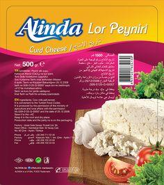 uysal gıda markası olan alinda ürün etiketi tasarımı & bobin etiket basımı
